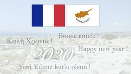 Happy new year 2020 on behalf of the French Embassy in Cyprus (...)