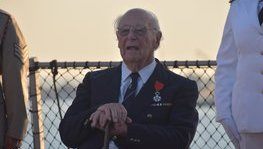 British war veteran receives highest French honour in Limassol